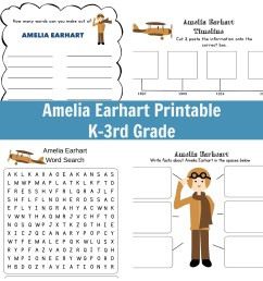 I Am Amelia Earhart Unit Study [ 2000 x 2000 Pixel ]