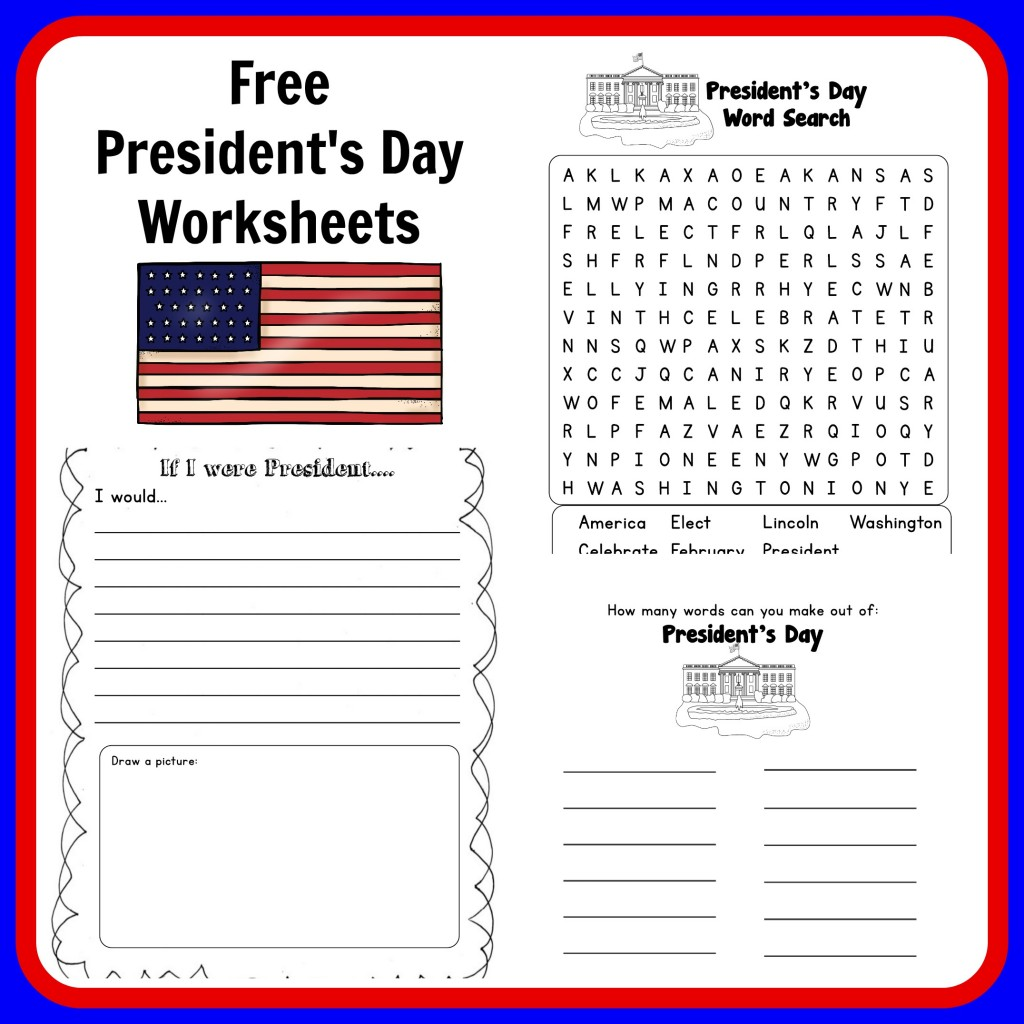 President S Day Reading Worksheet