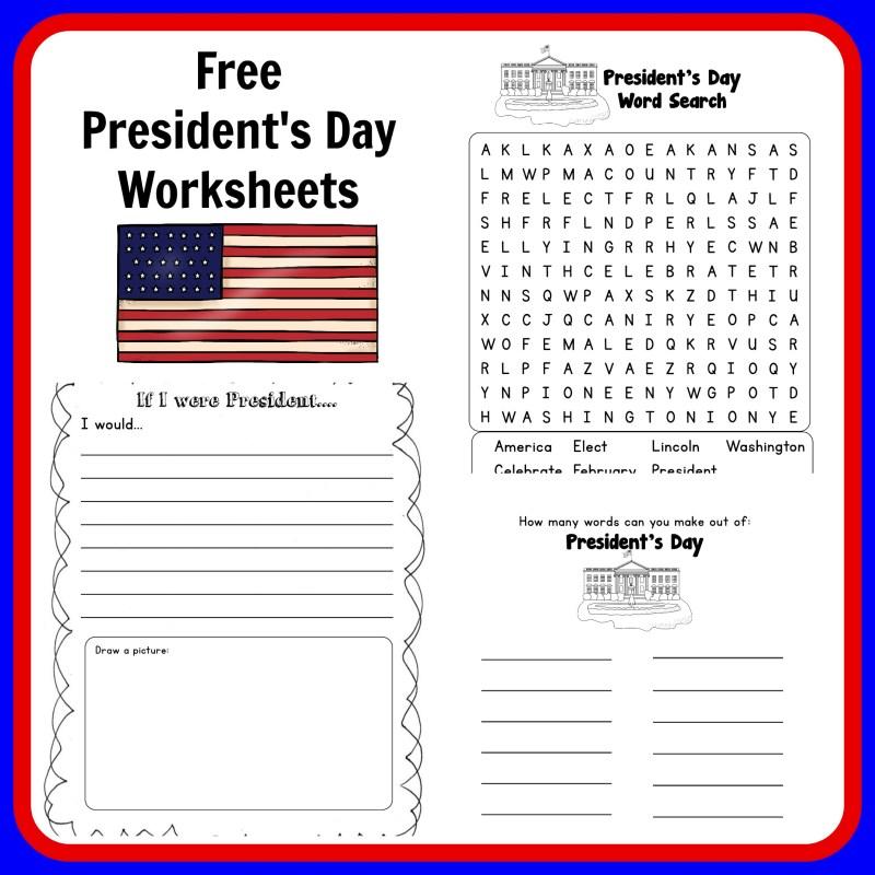 Presidents Day Worksheets Kindergarten Mattawa