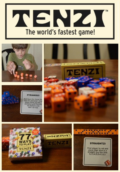 image about Printable Tenzi Cards named Enjoyment with Tenzi Cube
