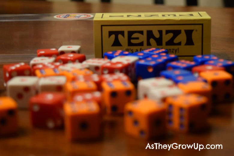 photograph regarding 77 Ways to Play Tenzi Printable titled Pleasurable with Tenzi Cube
