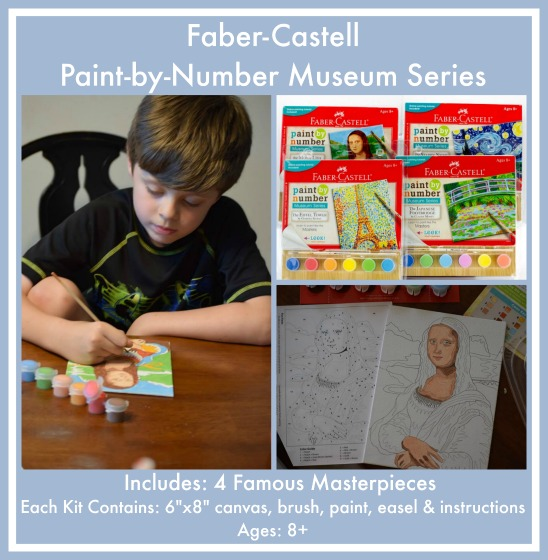 Faber-Castell Paint-by-Number Museum Series for ages 8+