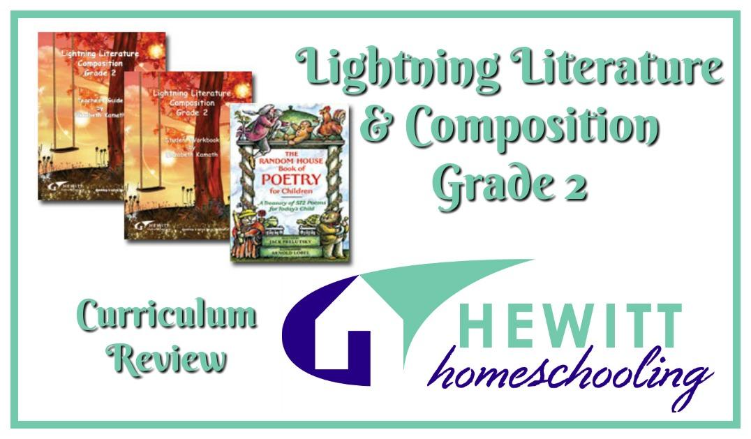 Hewitt Homeschooling Lightning Lit