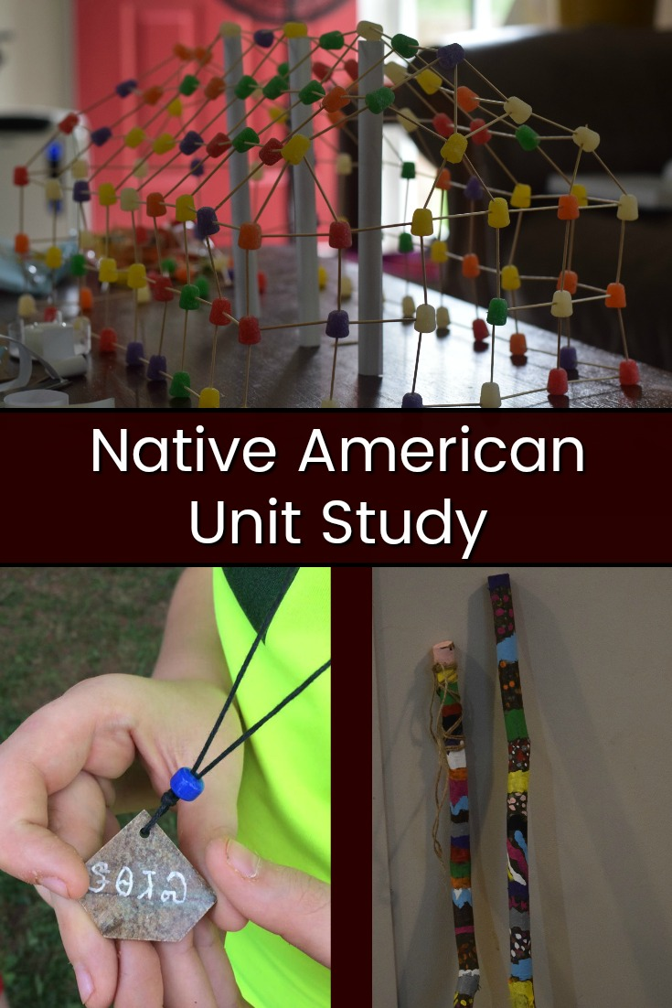 Our Homeschool Week: Native American Unit Study