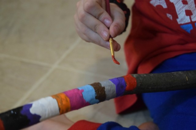 Native American Talking Stick