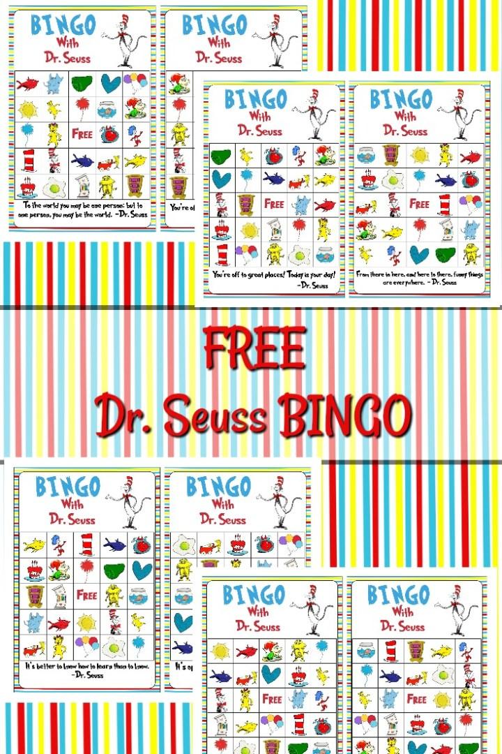 Free Dr. Seuss BINGO Printable