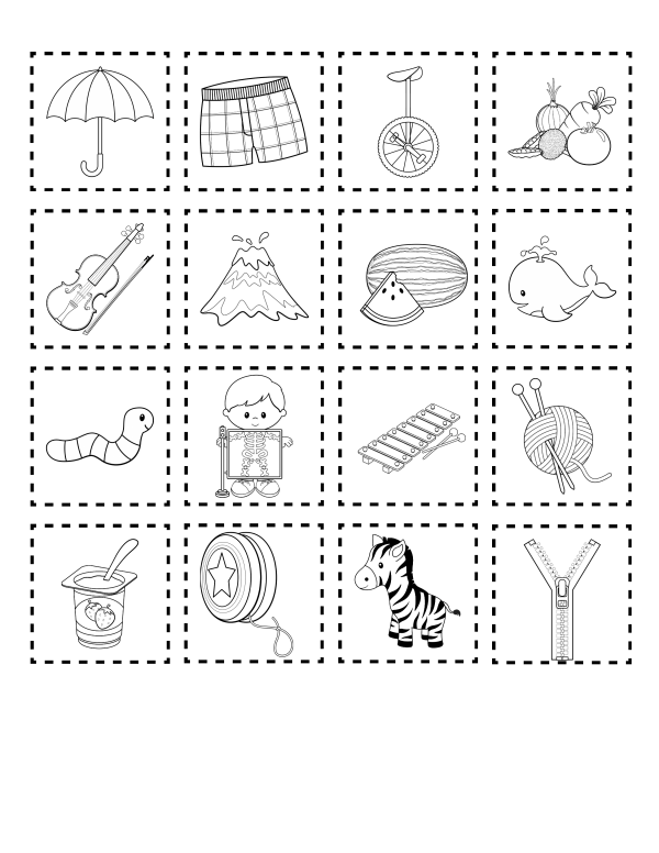 My Alphabet Book Printable