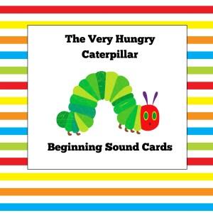 Very Hungry Caterpillar Beginning Sound Cards