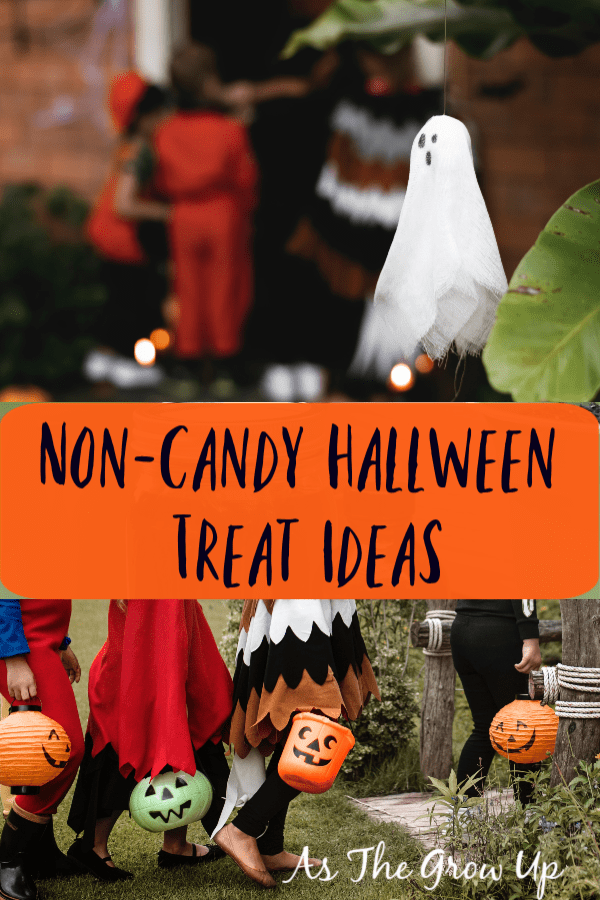Non-Candy Halloween Treat Ideas