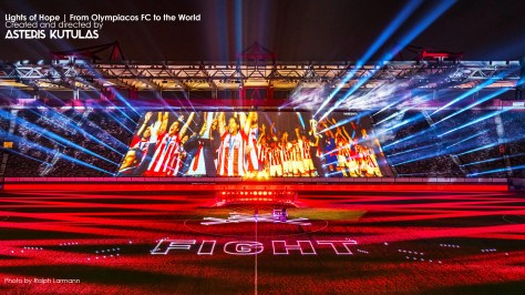 Olympiacos FC - Lights of Hope Event