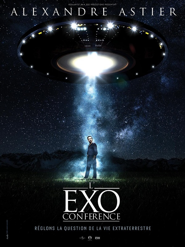 Exoconférence - Alexandre Astier - Affiche