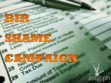 BIR shame campaign