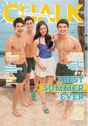 Chalk Big Summer Issue featuring Julia Montes and the Boys of Summer
