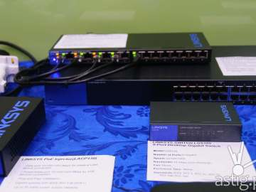 Linksys unmanaged switches and VPN routers