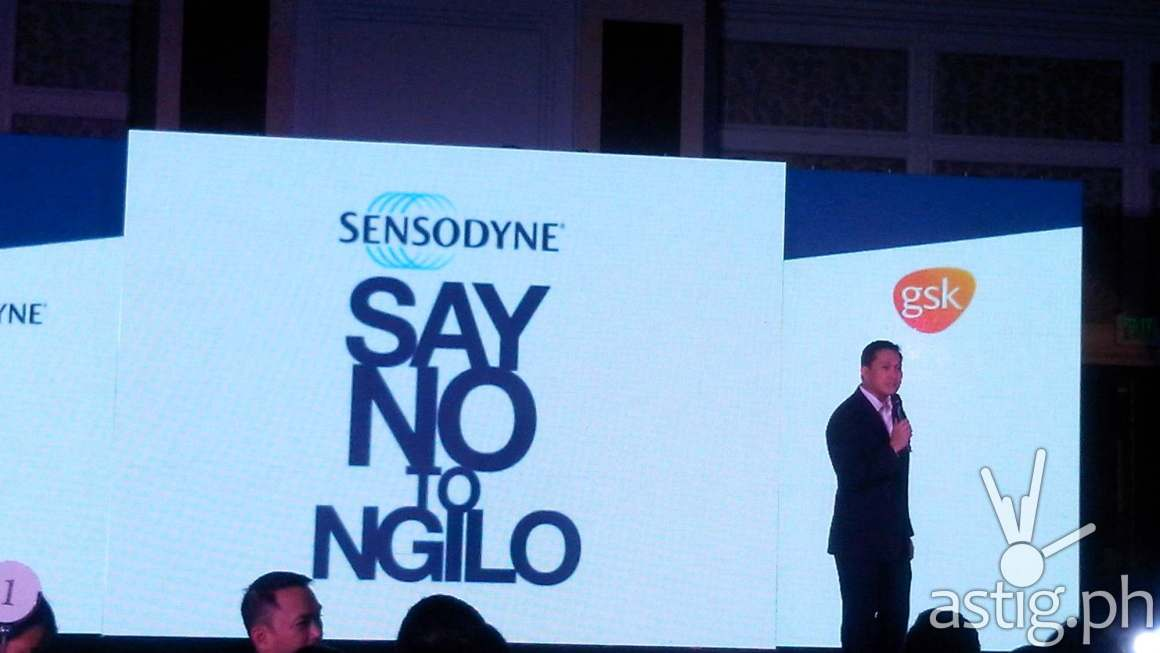 Mr. Jeoffrey Yulo, Consumer Healthcare General Manager of GSK Philippines