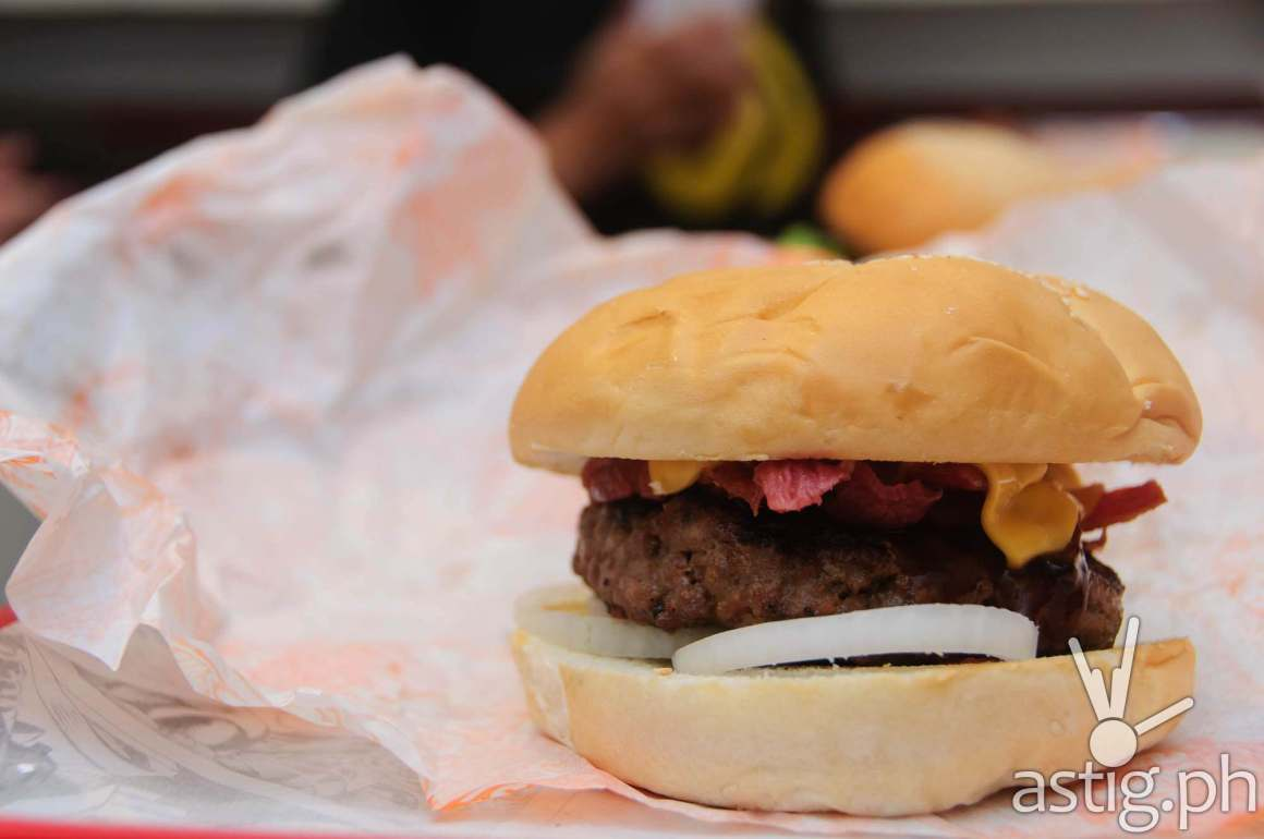 Bronco Burger at Wham! Burger SM Mall of Asia