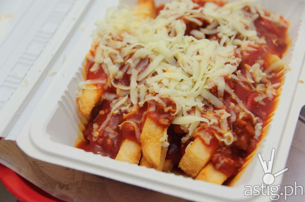 Spaghetti fries at Wham! Burgers