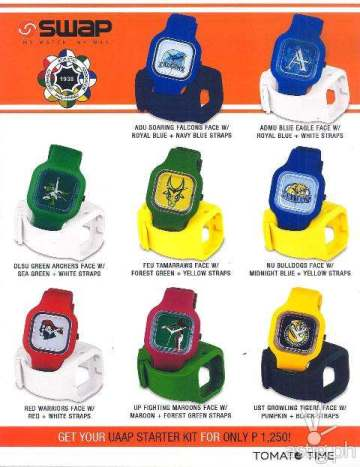 UAAP Swap Watches by Tomato Time
