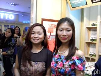 Marj Sia and Jirbie Go before undergoing brow resurrection