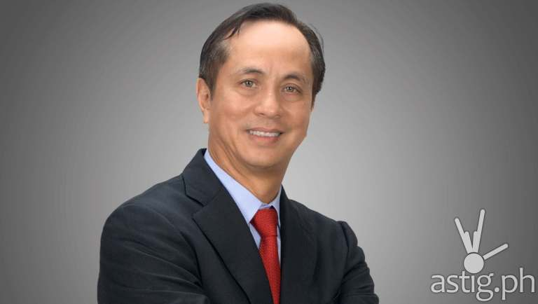 ABS-CBN CEO and Chairman Eugenio Lopez III