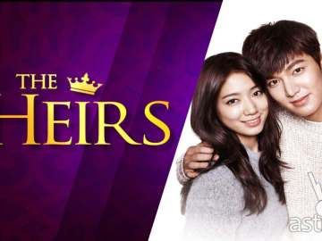 Lee Min Ho and Park Shin Hye stars in The Heirs