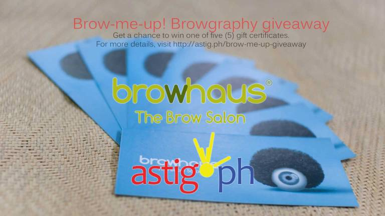 Brow-me-up Browhaus browgraphy giveaway
