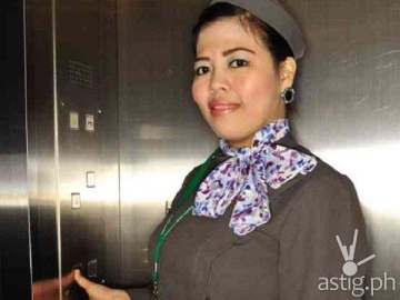 Cheridel Alejandrino elevator girl Pinoy Big Brother (via Inquirer.net)