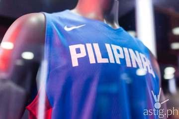 Gilas Pilipinas 2014 FIBA uniform by Nike