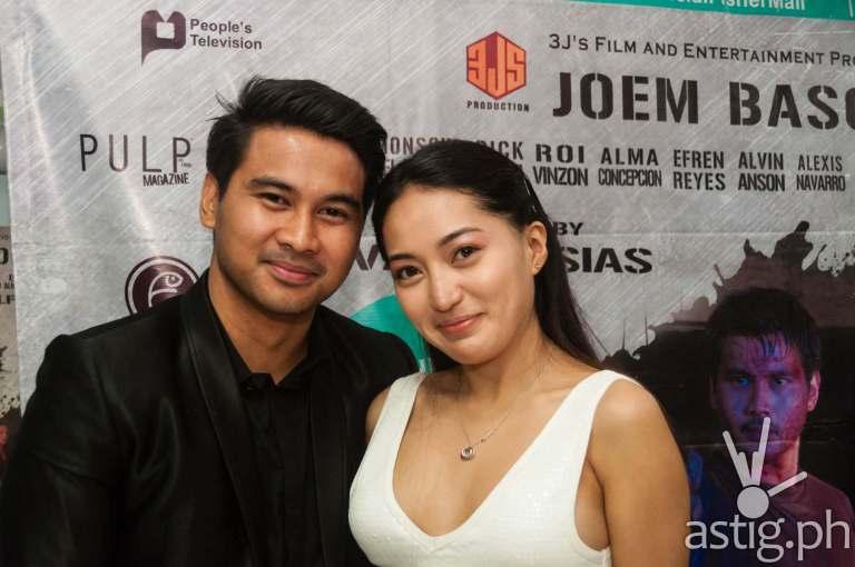 Joem Bascon and Alexis Navarro at the press conference of Ang Bagong Dugo