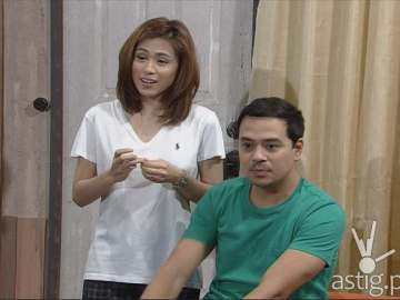 Toni Gonzaga and John Lloyd Cruz in Home Sweetie Home