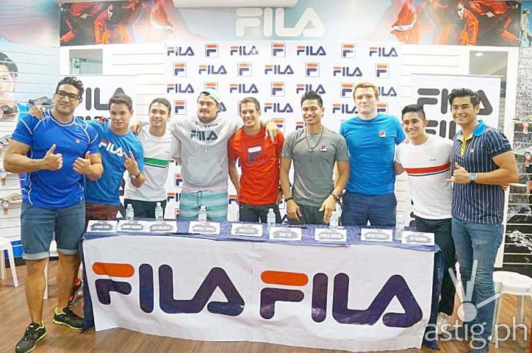 Philippine Volcanoes and Fabio Ide at the Fila Meet and Greet event