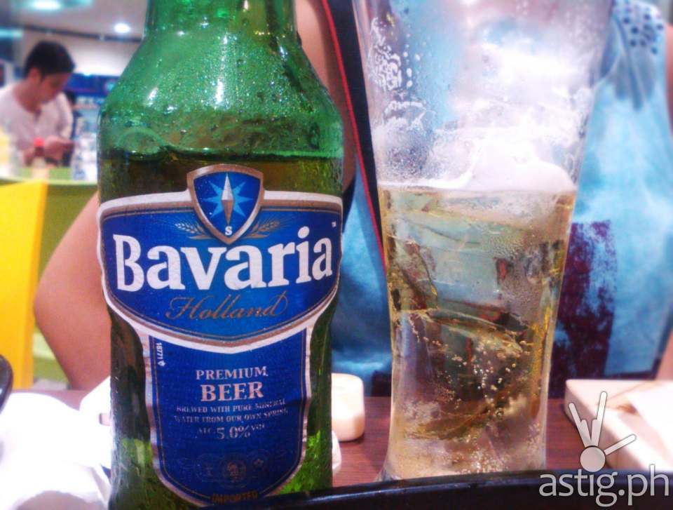 Want beer? Check this out - imported Bavaria!