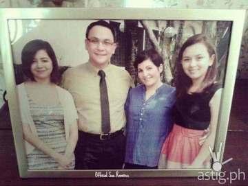 Ipaglaban Mo Ang Totoong Ako episode cast Sue Ramirez, Nonie Buencamino, Jackie Lou Blanco, & Beauty Gonzales (Photo courtesy of @SmileForSue on Twitter)