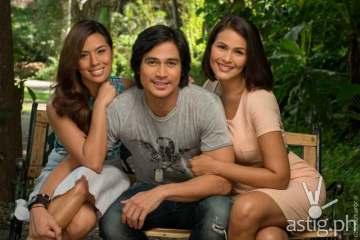 Nikki Gil, Piolo Pascual, and Iza Calzado stars in Hawak Kamay