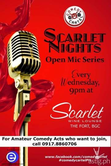 Scarlet Nights poster