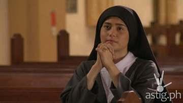 Jessy Mendiola as a Catholic nun