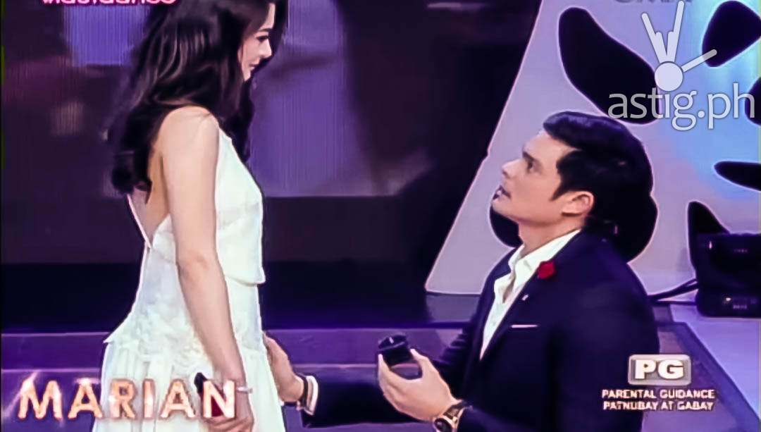Marian Rivera, will you marry me? - Dingdong Dantes (video ...