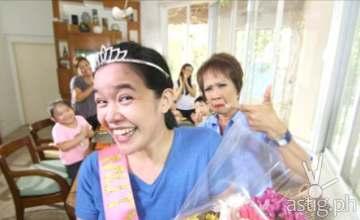 Mutya ng Masa anchor Doris Bigornia in MUTYA OF THE UNIVERSE plug