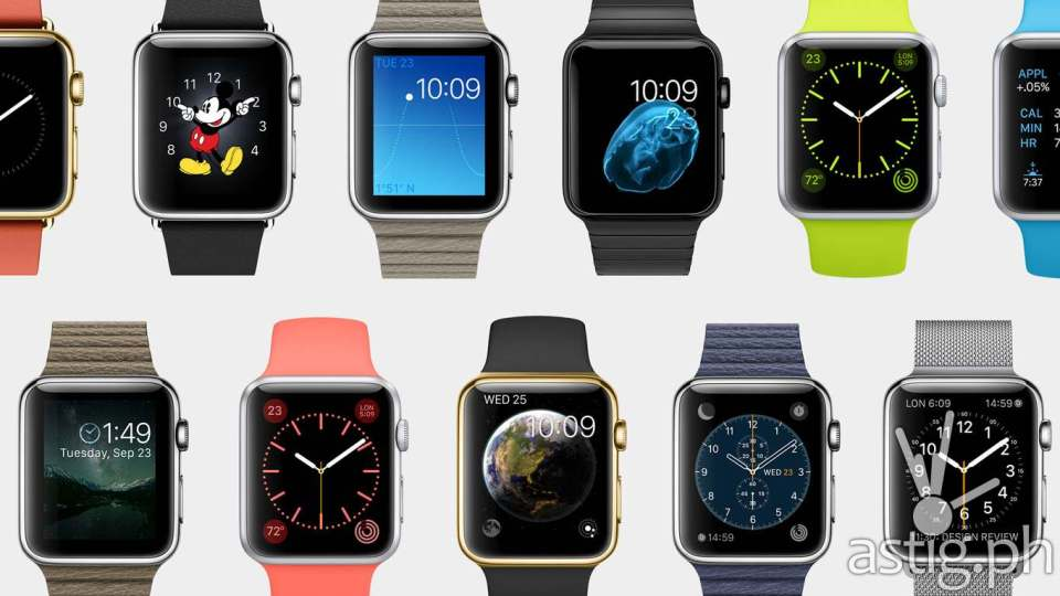 Apple Watch (iWatch) face customization