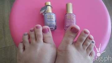 Soft and pretty feet - Make Me Blush Nail Spa & Beauty Lounge