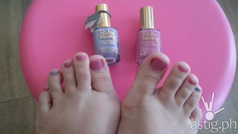 Soft and pretty feet - Make Me Blush Nail Spa & Beauty Lounge