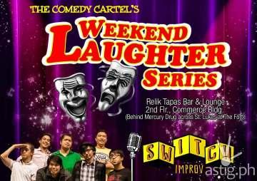 Comedy Cartel Weekend Laughter Series Relik Tapas Bar & Lounge