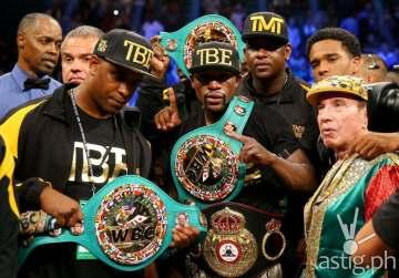Floyd Mayweather Jr vs Marcos Maidana Manny Pacquiao (@SportsCenter)