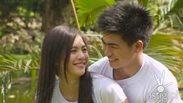 Janella Salvador and ex-PBB All In housemate Manolo Pedrosa
