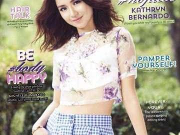 Chalk Magazine features Kathryn Bernardo this October