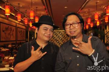 Composer / arranger Diwa De Leon and Francis de Veyra of Radioactive Sago Project