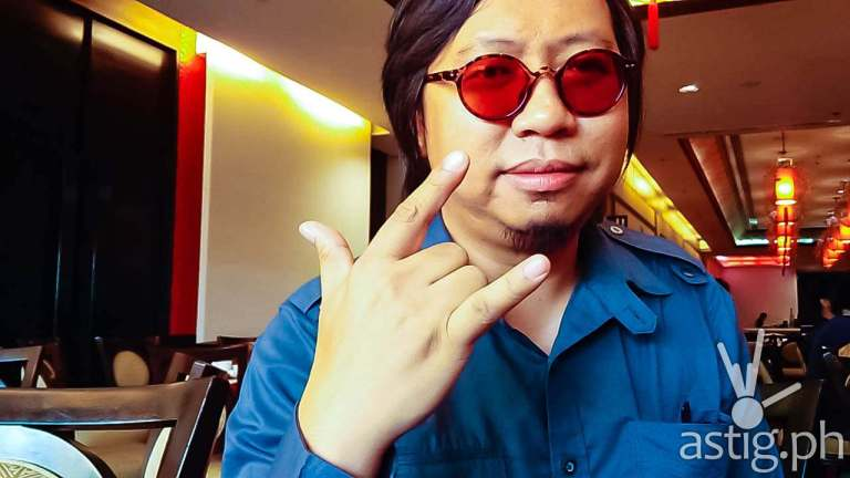Francis de Veyra of Radioactive Sago Project for ASTIG.PH