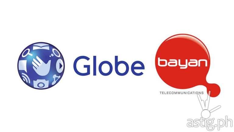 Globe Telecom Bayan Telecommunications Inc acquisition