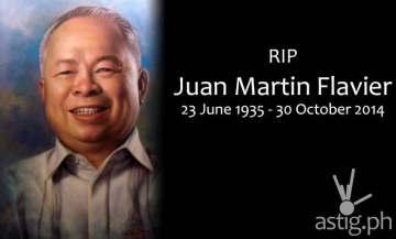 RIP Juan Flavier DOH Secretary and former Senator
