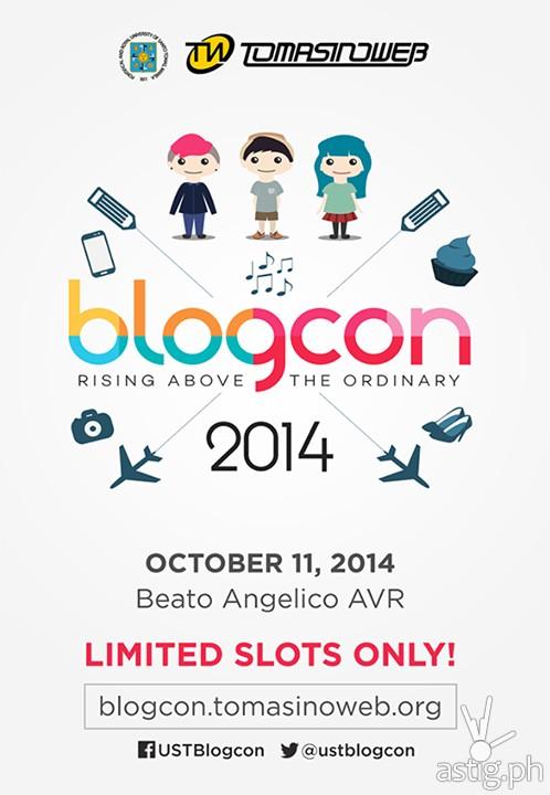 Blogcon 2014 poster